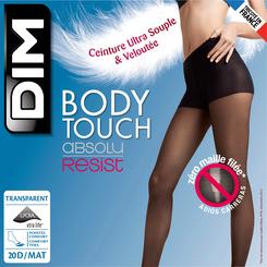 Collant beige naturel Body Touch 20D Absolu Resist-DIM
