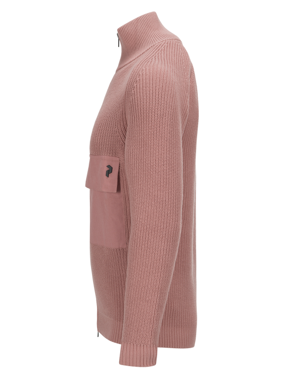Herren Curtis Pullover Softer Pink | Peak Performance