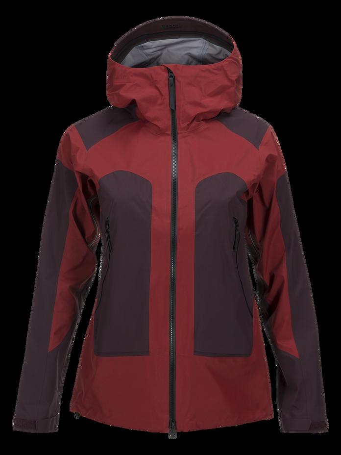 Women's Core 3-Layer Ski Jacket Dusty Wine | Peak Performance