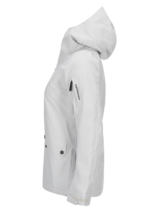 Women's Hakuba Ski Jacket Dk Offwhite | Peak Performance