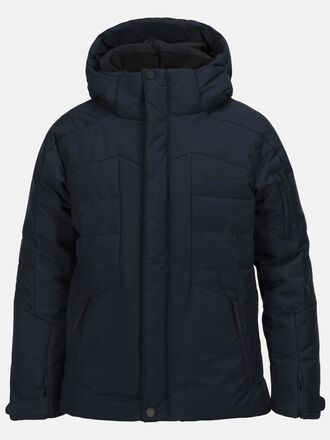 Kids Shiga Skijacke Salute Blue | Peak Performance