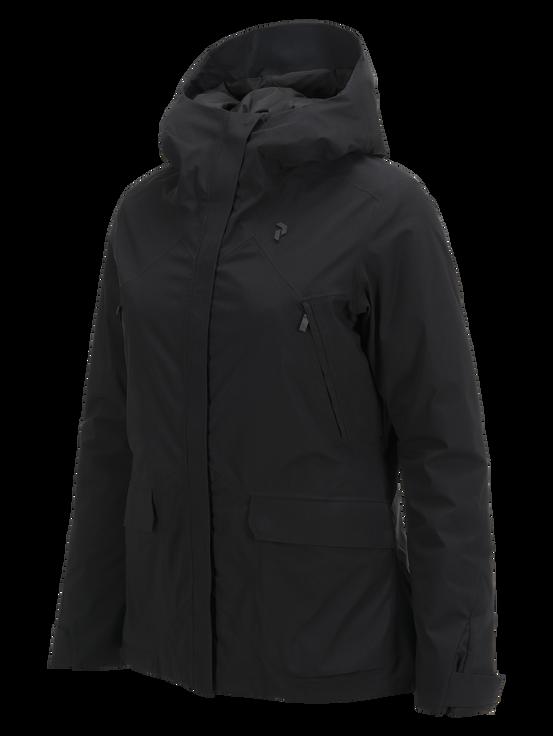 Women's Whitewater Ski Jacket Black | Peak Performance