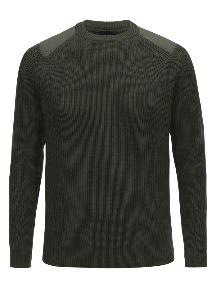 Men's Curtis Crew neck Terrain Green | Peak Performance