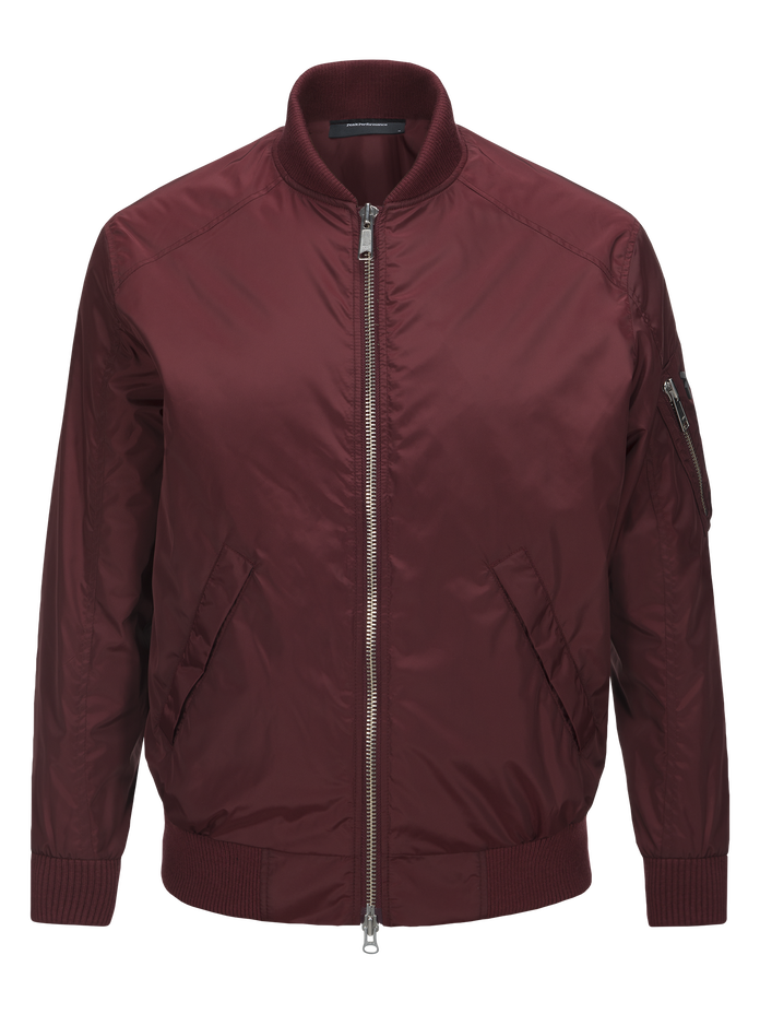 Men's Spectrum Jacket Baked Red | Peak Performance