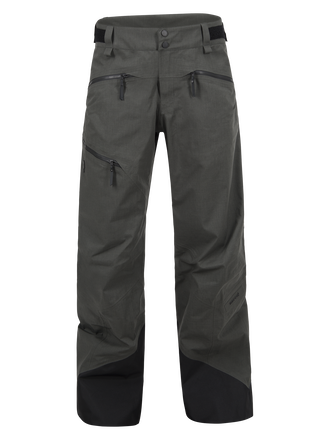 Men's Melange Teton Shell Ski Pants Black Olive | Peak Performance