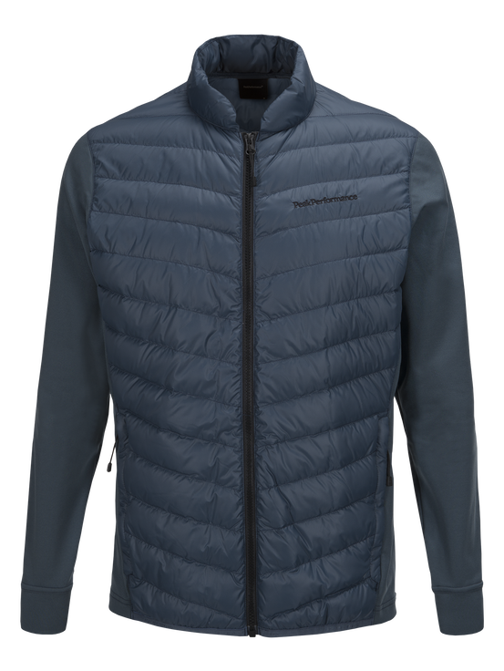 Men's Frost Hybrid Jacket Blue Steel | Peak Performance