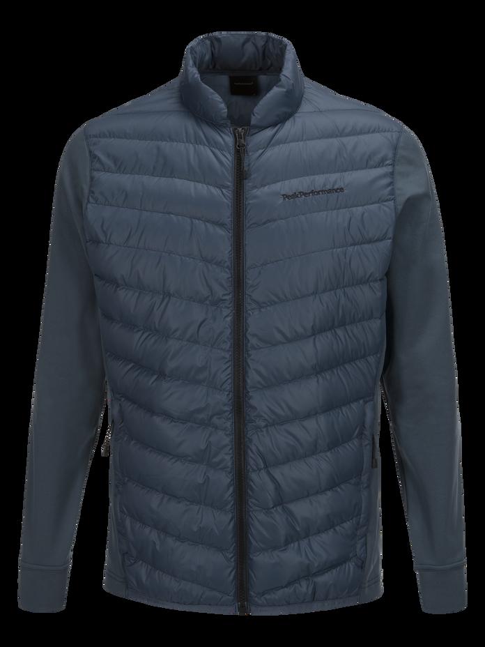 Men's Frost Hybrid Jacket Blue Steel | Peak Performance