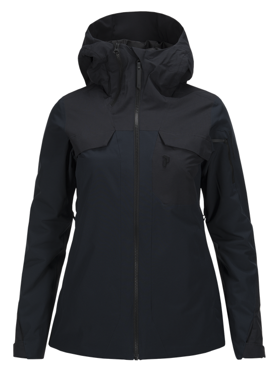 Damen Ironton Skijacke Salute Blue | Peak Performance