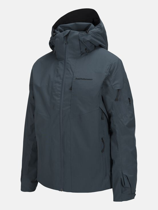Herren Maroon II Skijacke Blue Steel | Peak Performance