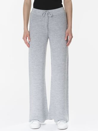 Damen Lounge Hose Med Grey Mel | Peak Performance
