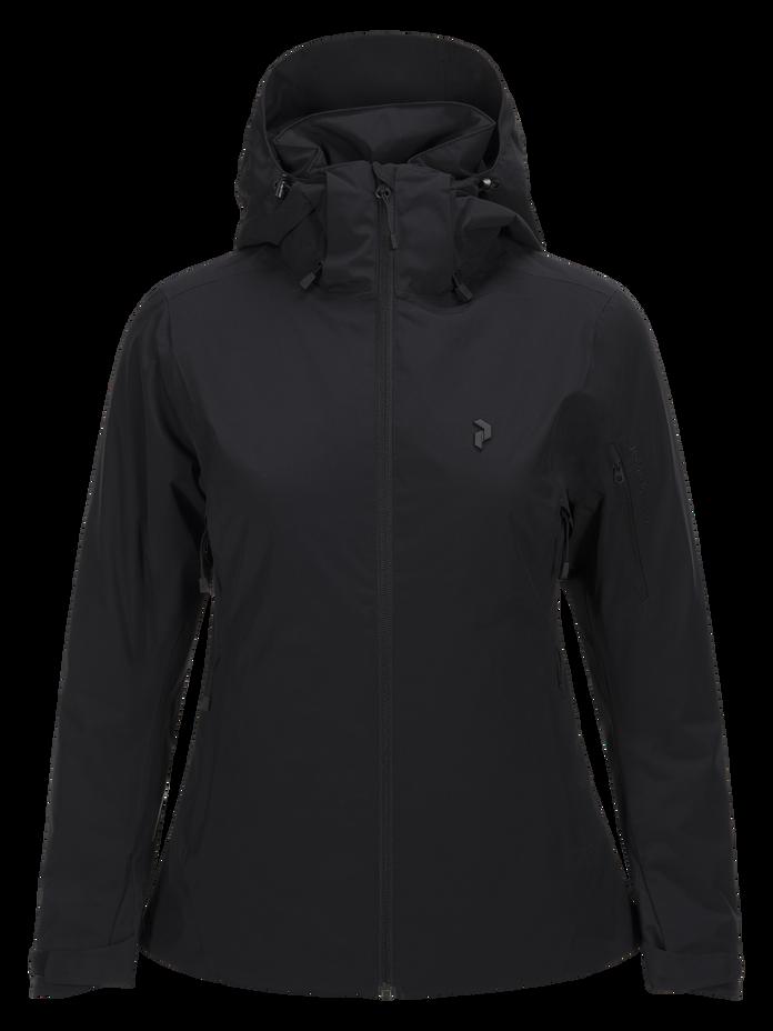 Women's Anima Ski Jacket Black | Peak Performance