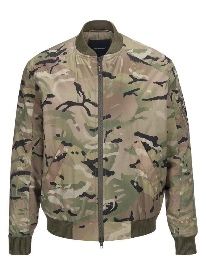 Herren Spectrum Camo Jacke Pattern | Peak Performance