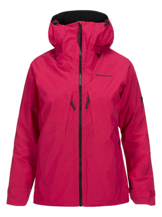 Women's Teton 2-Layer Ski Jacket Pink Planet | Peak Performance