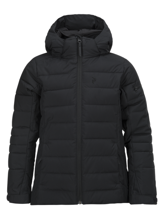Kids Blackburn SkiJacket Black | Peak Performance