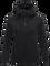 Damen Logo Mit Reißverschluss Hoodie Black | Peak Performance