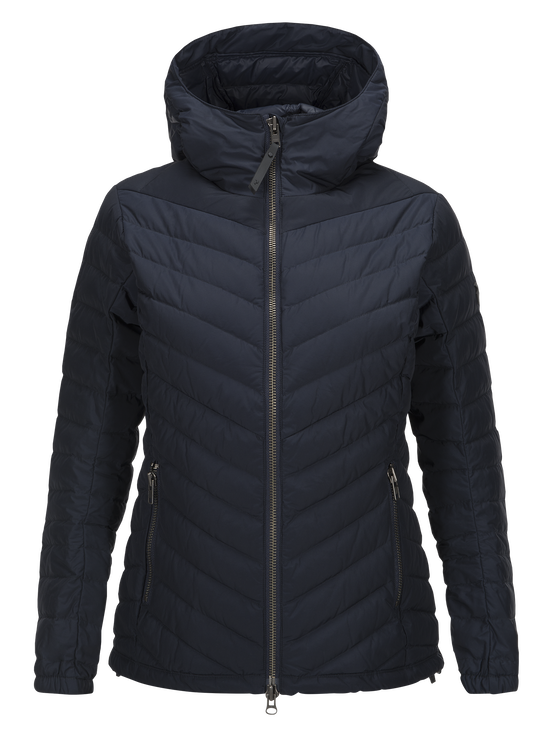 Damen Frost City Jacke Salute Blue | Peak Performance
