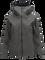 Women's Melange Teton Shell Ski Jackets Black Olive | Peak Performance