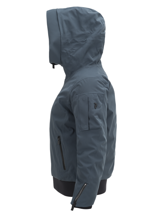 Damen Showdown Skijacke Blue Steel | Peak Performance