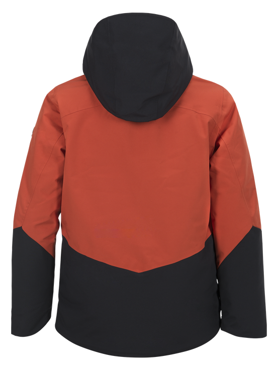 Kids Greyhawk Ski Jacket Orange Planet | Peak Performance