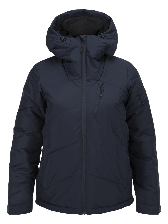 Women's Winterplace Ski Jacket Salute Blue | Peak Performance