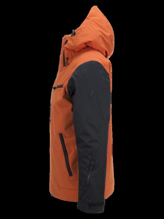 Men's Scoot Ski Jacket Blaze Orange | Peak Performance