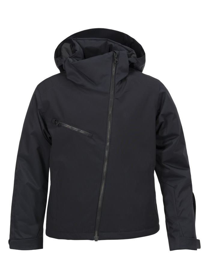 Kids Scoot  Ski Jacket Black | Peak Performance