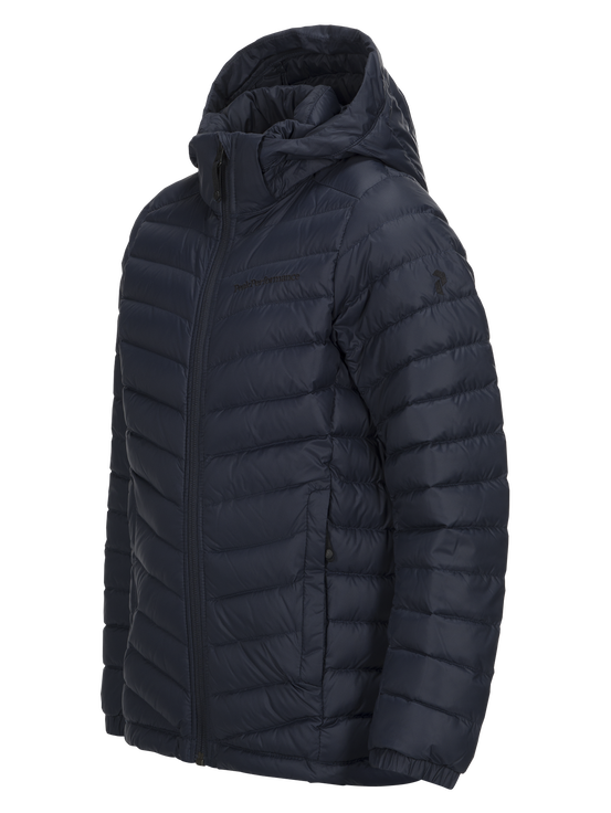 Kids Frost Down Hood Jacket Salute Blue | Peak Performance