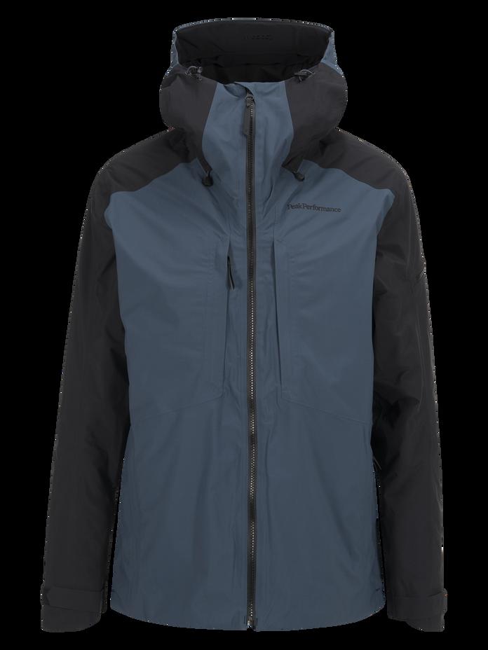Men's Teton 2-Layer Ski Jacket Blue Steel | Peak Performance