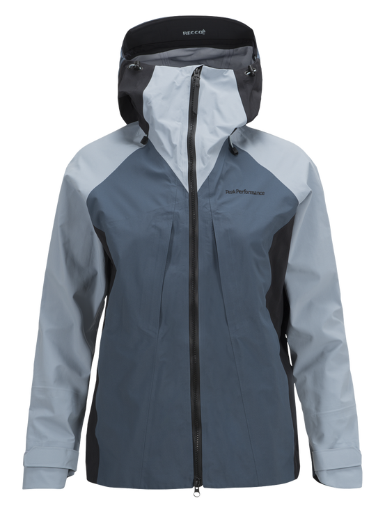 Damen Teton Skijacke Dustier Blue | Peak Performance
