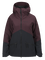 Women's Greyhawk Ski Jacket Mahogany | Peak Performance