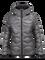 Women's BL Helium Hooded Jacket Quiet Grey | Peak Performance
