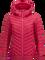 Women's Frost Down Hooded Jacket Pink Planet | Peak Performance