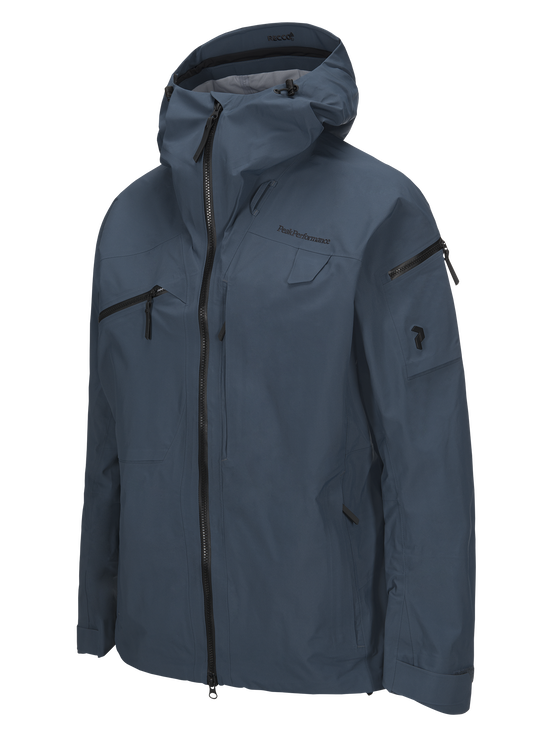 Herren Alpine Skijacke Blue Steel | Peak Performance