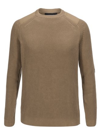 Men's Curtis Crew neck True Beige | Peak Performance