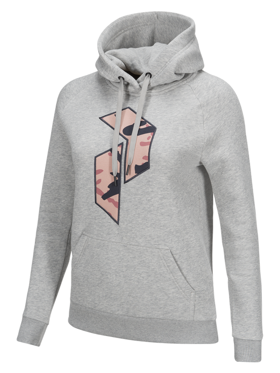Women's Art Hoodie Med Grey Mel | Peak Performance