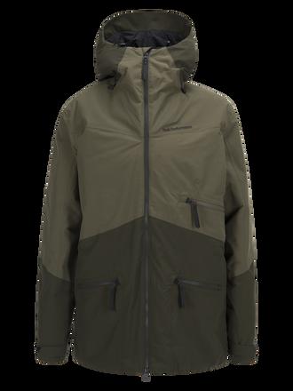 Men's Greyhawk  Ski Jacket Soil Olive | Peak Performance