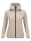 Women's Tech Zipped Hoodie Slow Beige | Peak Performance