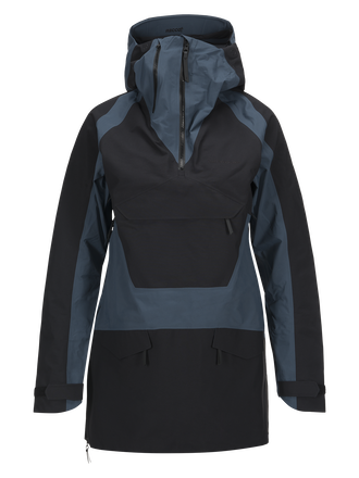 Women's Volcan Ski Anorak Blue Steel | Peak Performance