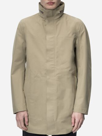 Manteau homme Parkes True Beige | Peak Performance