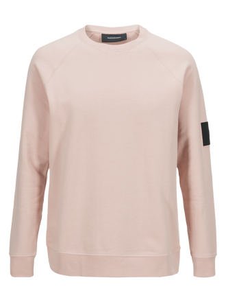 Herren Original Rundhalspullover Softer Pink | Peak Performance