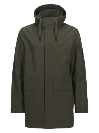 Men's Zak Parka Terrain Green | Peak Performance