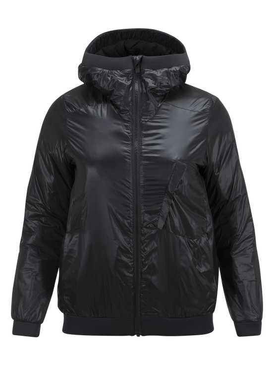 Women's  Powderhound Liner Ski Jacket Black | Peak Performance