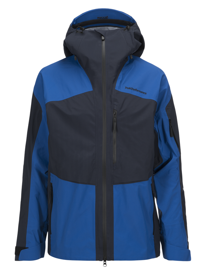 Men's Gravity Ski Jacket Salute Blue | Peak Performance