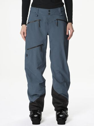 Damen Teton Skihose Blue Steel | Peak Performance