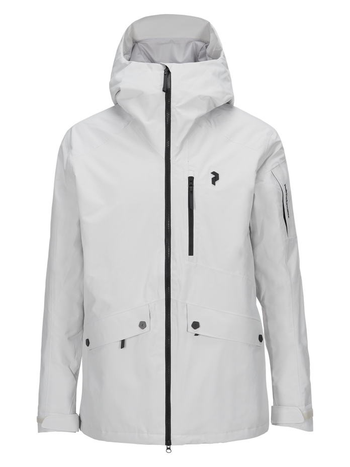 Men's Hakuba Ski Jacket Dk Offwhite | Peak Performance