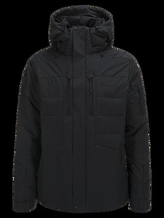 Men's Shiga  Ski Jacket Black | Peak Performance