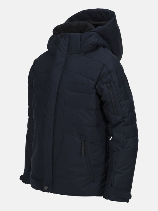 Kids Shiga  Ski Jacket Salute Blue | Peak Performance
