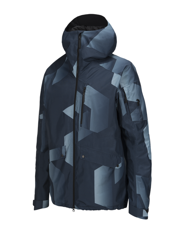 Men's Hakuba Printed Ski Jacket Pattern | Peak Performance