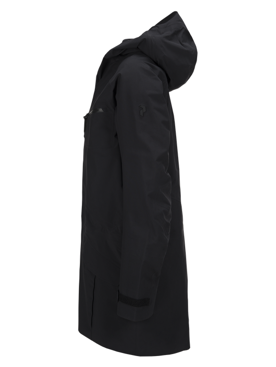 Men's Volcan Ski Parka Black | Peak Performance