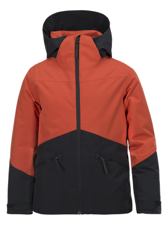 Kids Greyhawk Skijacke Orange Planet | Peak Performance